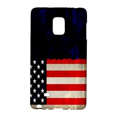 Grunge American Flag Background Galaxy Note Edge