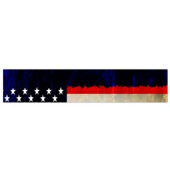 Grunge American Flag Background Flano Scarf (Small)