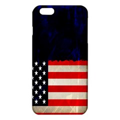 Grunge American Flag Background iPhone 6 Plus/6S Plus TPU Case