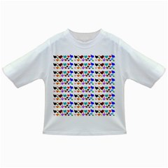 A Creative Colorful Background With Hearts Infant/toddler T Shirts