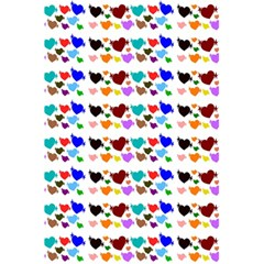 A Creative Colorful Background With Hearts 5.5  x 8.5  Notebooks
