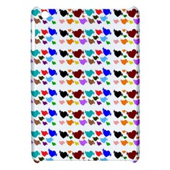 A Creative Colorful Background With Hearts Apple iPad Mini Hardshell Case