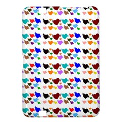 A Creative Colorful Background With Hearts Kindle Fire Hd 8 9
