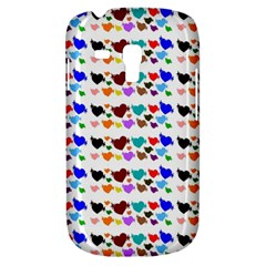 A Creative Colorful Background With Hearts Galaxy S3 Mini