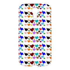 A Creative Colorful Background With Hearts Samsung Galaxy S4 I9500/I9505 Hardshell Case