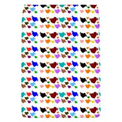 A Creative Colorful Background With Hearts Flap Covers (s)