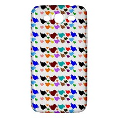 A Creative Colorful Background With Hearts Samsung Galaxy Mega 5.8 I9152 Hardshell Case