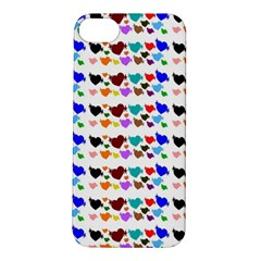 A Creative Colorful Background With Hearts Apple Iphone 5s/ Se Hardshell Case