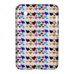A Creative Colorful Background With Hearts Samsung Galaxy Tab 2 (7 ) P3100 Hardshell Case