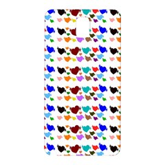 A Creative Colorful Background With Hearts Samsung Galaxy Note 3 N9005 Hardshell Back Case