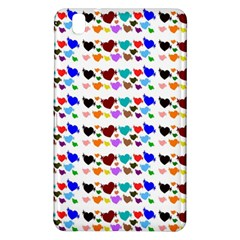 A Creative Colorful Background With Hearts Samsung Galaxy Tab Pro 8.4 Hardshell Case