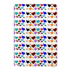 A Creative Colorful Background With Hearts Samsung Galaxy Tab Pro 12 2 Hardshell Case