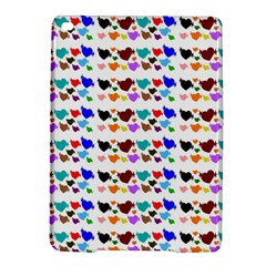 A Creative Colorful Background With Hearts iPad Air 2 Hardshell Cases