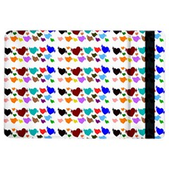 A Creative Colorful Background With Hearts Ipad Air 2 Flip