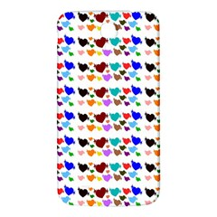 A Creative Colorful Background With Hearts Samsung Galaxy Mega I9200 Hardshell Back Case
