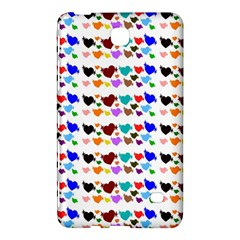 A Creative Colorful Background With Hearts Samsung Galaxy Tab 4 (7 ) Hardshell Case