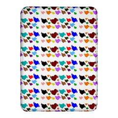 A Creative Colorful Background With Hearts Samsung Galaxy Tab 4 (10 1 ) Hardshell Case