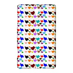 A Creative Colorful Background With Hearts Samsung Galaxy Tab S (8.4 ) Hardshell Case