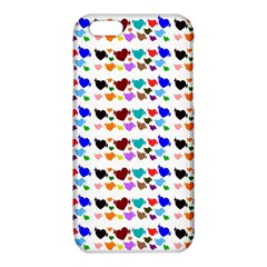 A Creative Colorful Background With Hearts iPhone 6/6S TPU Case