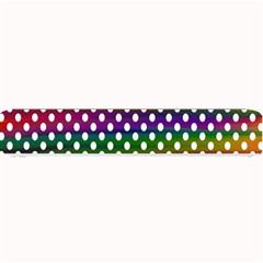 Digital Polka Dots Patterned Background Small Bar Mats