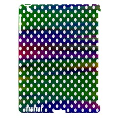 Digital Polka Dots Patterned Background Apple Ipad 3/4 Hardshell Case (compatible With Smart Cover)