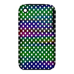 Digital Polka Dots Patterned Background Iphone 3s/3gs
