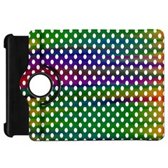 Digital Polka Dots Patterned Background Kindle Fire Hd 7
