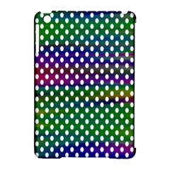 Digital Polka Dots Patterned Background Apple Ipad Mini Hardshell Case (compatible With Smart Cover)