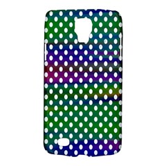 Digital Polka Dots Patterned Background Galaxy S4 Active