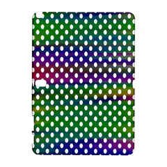 Digital Polka Dots Patterned Background Galaxy Note 1