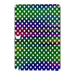 Digital Polka Dots Patterned Background Samsung Galaxy Tab Pro 10.1 Hardshell Case