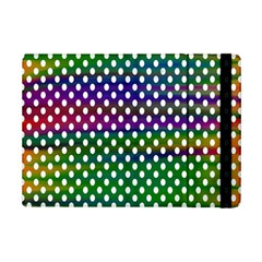 Digital Polka Dots Patterned Background iPad Mini 2 Flip Cases