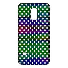 Digital Polka Dots Patterned Background Galaxy S5 Mini