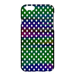 Digital Polka Dots Patterned Background Apple Iphone 6 Plus/6s Plus Hardshell Case