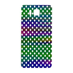 Digital Polka Dots Patterned Background Samsung Galaxy Alpha Hardshell Back Case