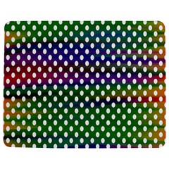 Digital Polka Dots Patterned Background Jigsaw Puzzle Photo Stand (Rectangular)