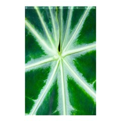 Green Leaf Macro Detail Shower Curtain 48  X 72  (small)