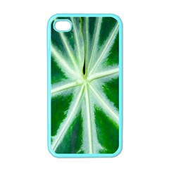 Green Leaf Macro Detail Apple iPhone 4 Case (Color)