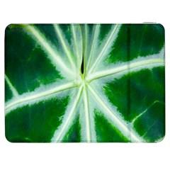 Green Leaf Macro Detail Samsung Galaxy Tab 7  P1000 Flip Case