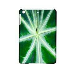 Green Leaf Macro Detail Ipad Mini 2 Hardshell Cases