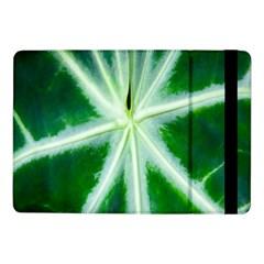 Green Leaf Macro Detail Samsung Galaxy Tab Pro 10 1  Flip Case