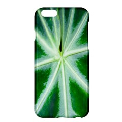 Green Leaf Macro Detail Apple Iphone 6 Plus/6s Plus Hardshell Case