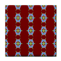 Geometric Seamless Pattern Digital Computer Graphic Face Towel
