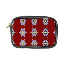 Geometric Seamless Pattern Digital Computer Graphic Coin Purse
