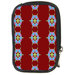 Geometric Seamless Pattern Digital Computer Graphic Compact Camera Cases