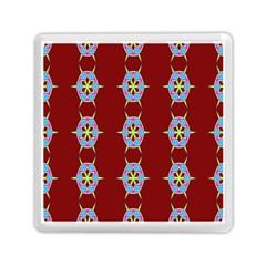 Geometric Seamless Pattern Digital Computer Graphic Memory Card Reader (Square)