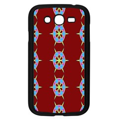 Geometric Seamless Pattern Digital Computer Graphic Samsung Galaxy Grand Duos I9082 Case (black)