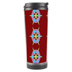 Geometric Seamless Pattern Digital Computer Graphic Travel Tumbler
