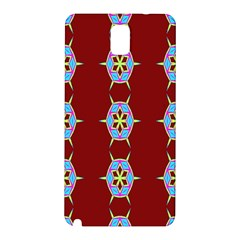 Geometric Seamless Pattern Digital Computer Graphic Samsung Galaxy Note 3 N9005 Hardshell Back Case