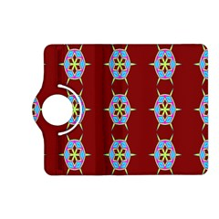 Geometric Seamless Pattern Digital Computer Graphic Kindle Fire HD (2013) Flip 360 Case
